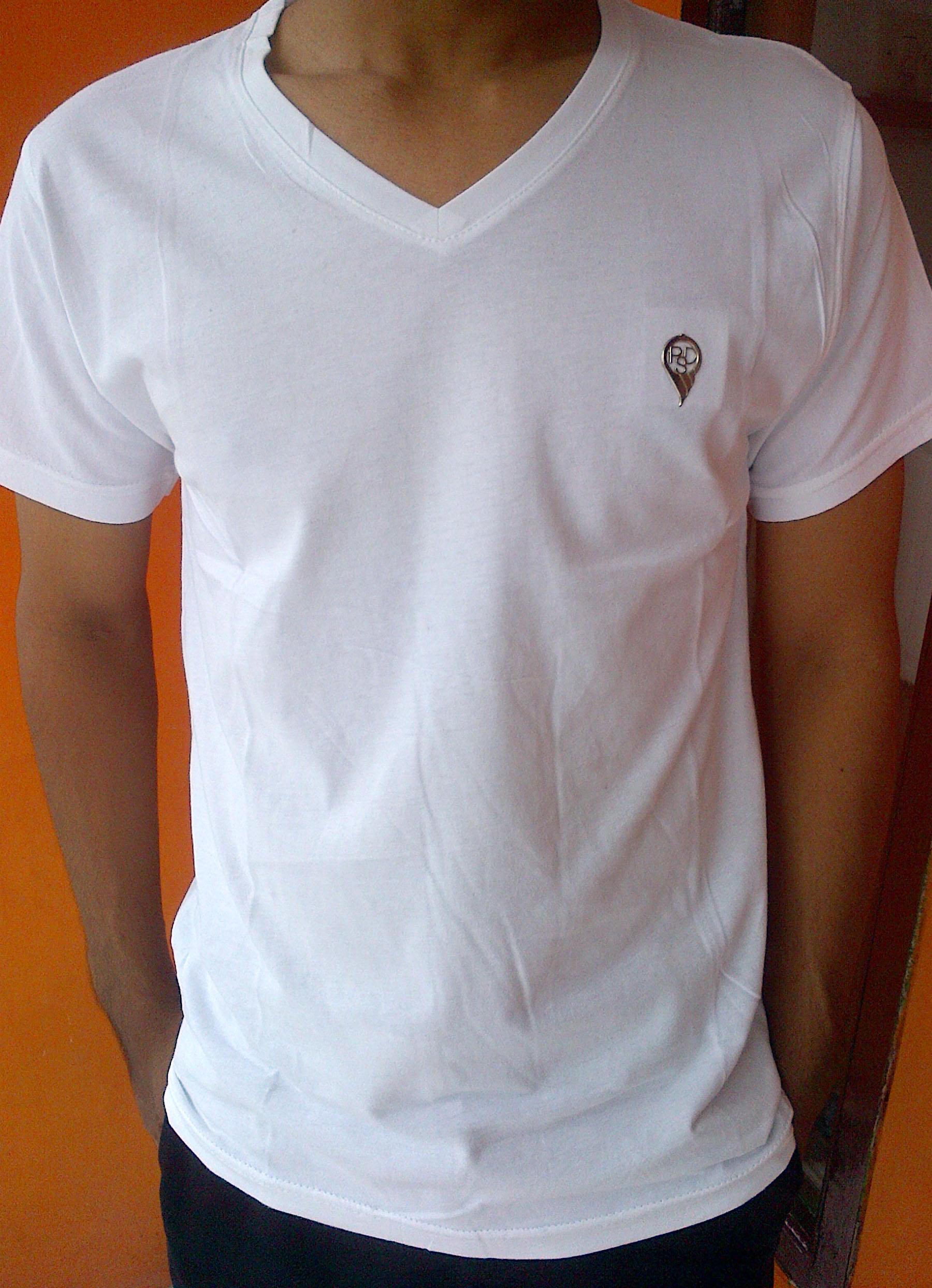Kaos Polos Psd Putih Polo Murah Cotton